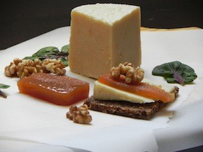 Cheese with Quince Paste (Membrillo) and Walnuts