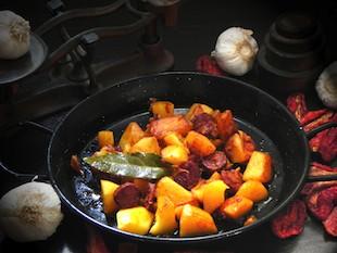 A Recipe for Patatas a la Riojana