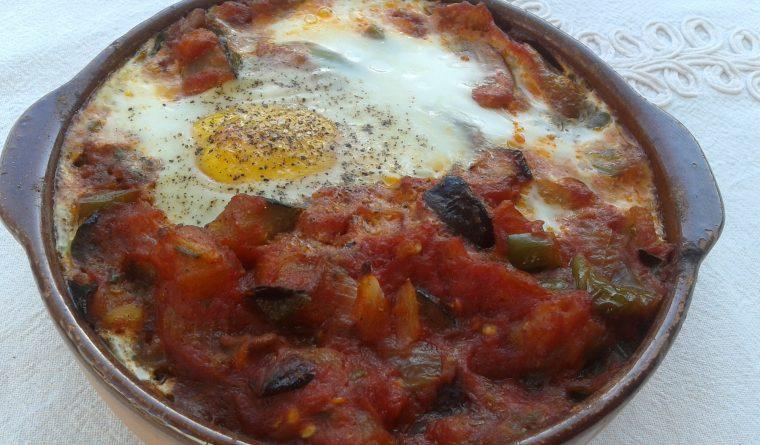 Eggs a la Flamenca