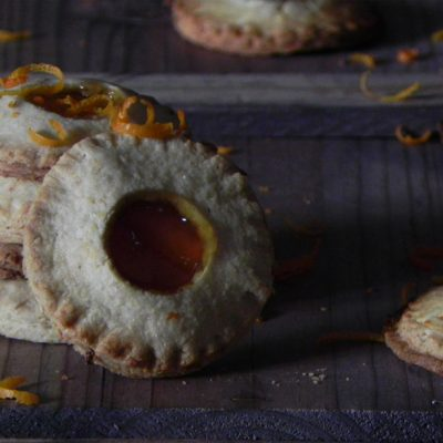 Almond Biscuits With Bitter Orange