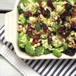 Broccoli Salad with Dried Plums