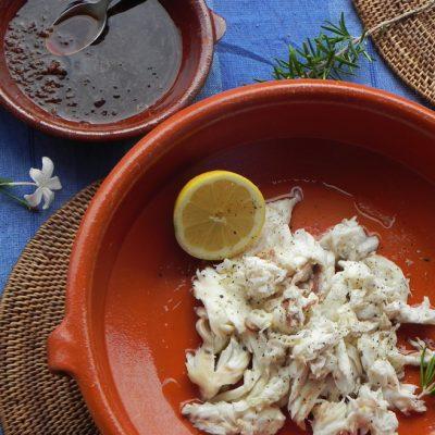 Salt Crusted Baked Sea Bass