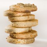 Dried apricot biscuits