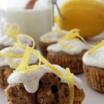 Lemon and Poppy Seed Magdalenas