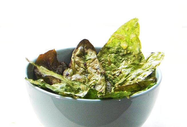 Spinach Crisps