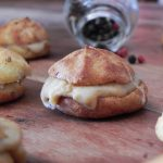Stuffed Buñuelos with Cheese and Mushrooms pate