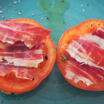 Tomato & Jamón Ibérico Slice