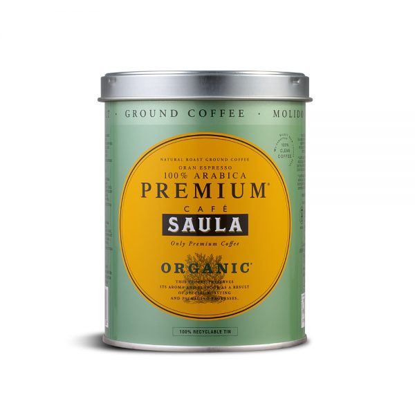 Cafe Saula - Gran Espresso Premium Organic Ground