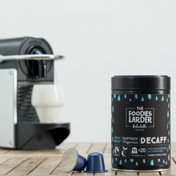 biodegradable-nespresso-capsules-Swiss Water®-decaffeinated-coffee