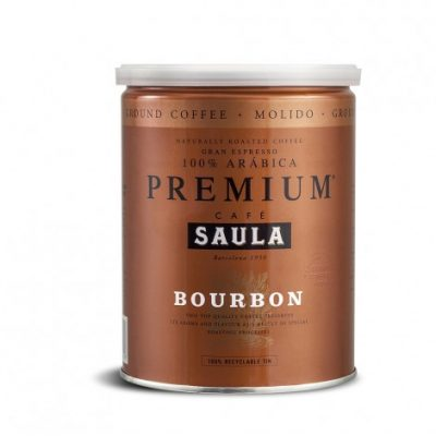 Café Saula's Premium Bourbon Ground Coffee