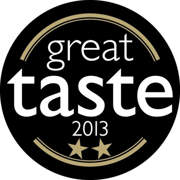 Great Taste 2013 Awards - 2 Gold Stars