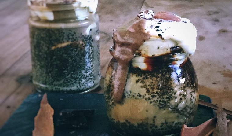 Chia Seeds Coffee Pudding