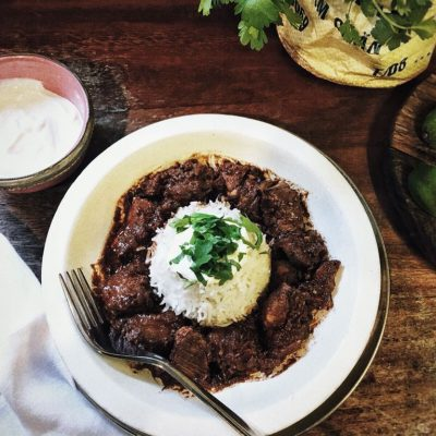 Mexican Turkey Mole with Espresso Coffee