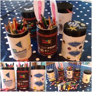 The Foodies Larder - kids bling your coffee capsule tin