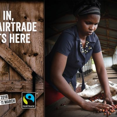 Fairtrade Fortnight 2018 invites you to come on in!