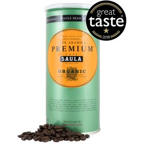 Cafe Saula Premium Organic Whole Beans