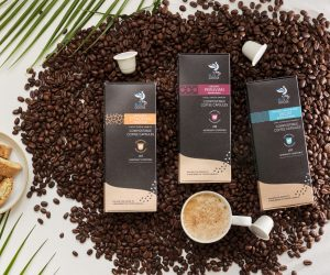 Blue Goose compostable coffee capsules