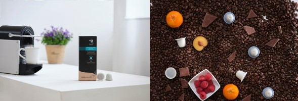Organic Swiss Water Decaf Compostable Coffee Capsules