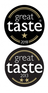 Great Taste Awards Cafe Saula Espresso Ground Whole Bean coffee Stacked logos.png