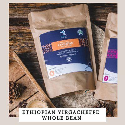 NEW! Ethiopian Yirgacheffe Whole Bean Coffee
