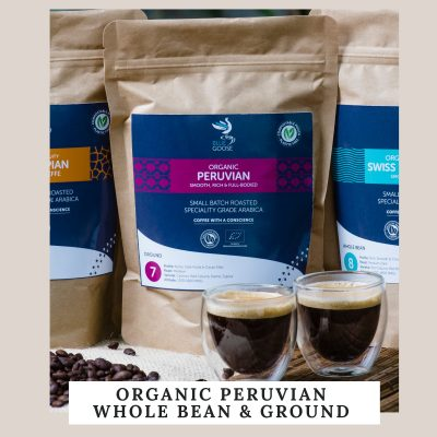 NEW! Organic Peruvian Coffee